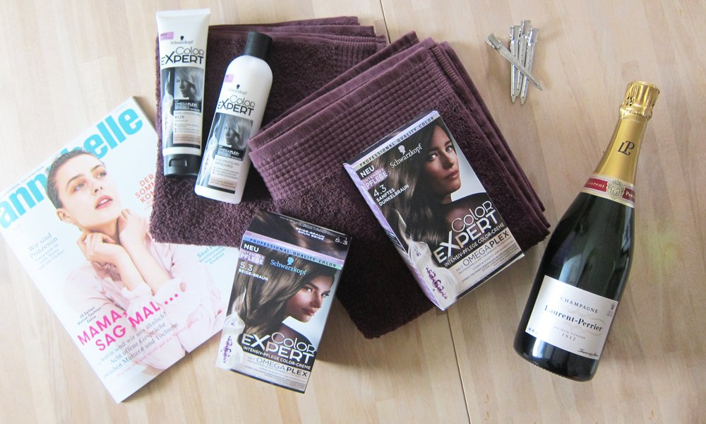 DIY Hair Dye Session with Schwarzkopf Color Expert