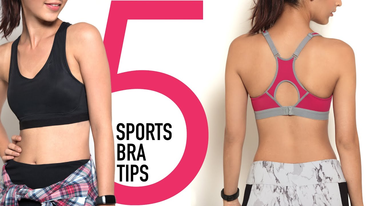 What Points to Consider While Picking a Sports Bra Online